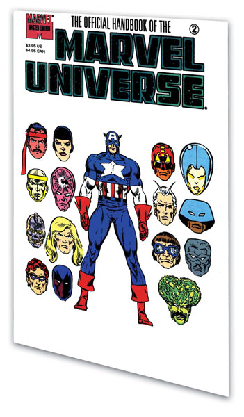 Image: Essential Official Handbook of the Marvel Universe - Master ed. Vol. 01 SC  - Marvel Comics
