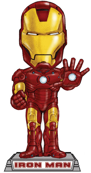 Image: Iron Man  (Movie) Bobble Head -