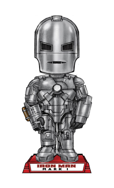 Image: Iron Man Mark 1 Movie Wacky Wobbler Bobble-Head  -