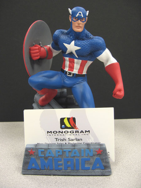 Image: Captain America Business Card Holder  -