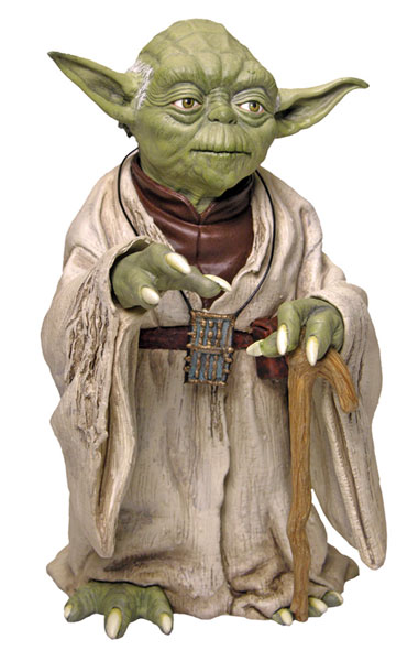 Image: Star Wars: Episode V Yoda Statue  -