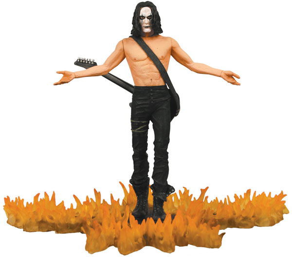 Image: Cult Classics Hall of Fame: the Crow Action Figure  -