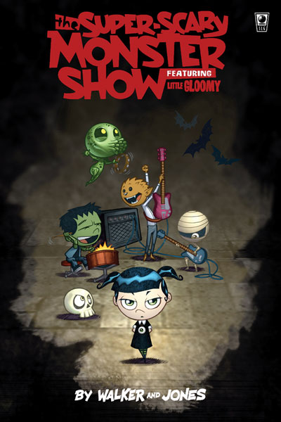 Image: Super Scary Monster Show featurning Little Gloomy Vol. 01 SC  - Amaze Ink/Slave Labor Graphics