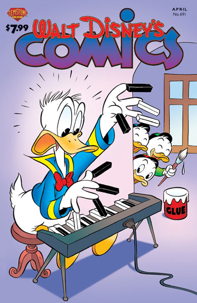 Image: Walt Disney's Comics & Stories #691 - Gemstone Publishing