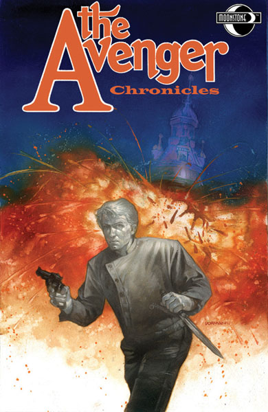 Image: Avenger Chronicles  (Book Market Edition) SC - Moonstone