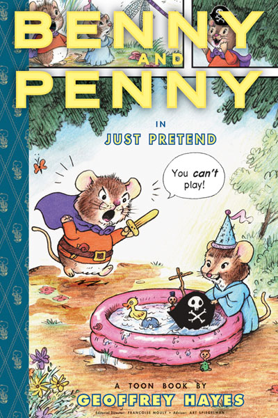 Image: Benny and Penny in 'Just Pretend' HC  - Raw Junior, LLC