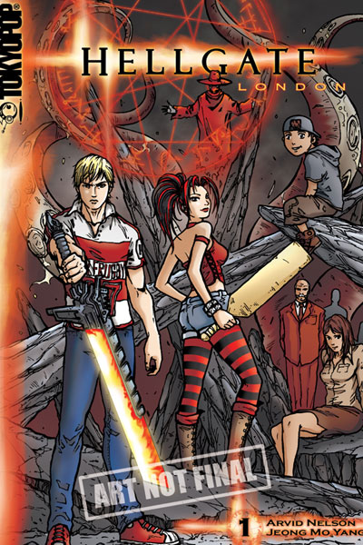 Image: Hellgate: London Vol. 01 SC  - Tokyopop