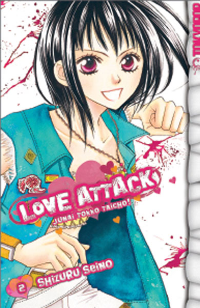 Image: Love Attack Vol. 02 SC  - Tokyopop