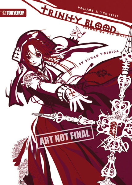 Image: Trinity Blood: Reborn on the Mars Novel Vol. 02: The Iblis SC  - Tokyopop