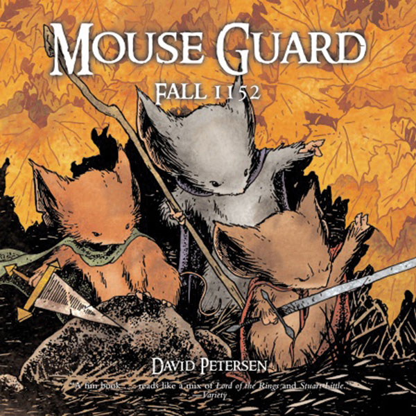 Image: Mouse Guard: Fall 1152 SC  - Villard Books