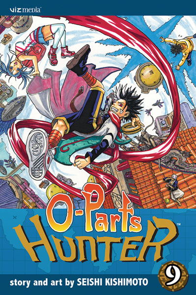 Image: O-Parts Hunter Vol. 09 SC  - Viz Media LLC