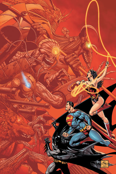 Image: 52 Aftermath: The Four Horsemen SC  - DC Comics