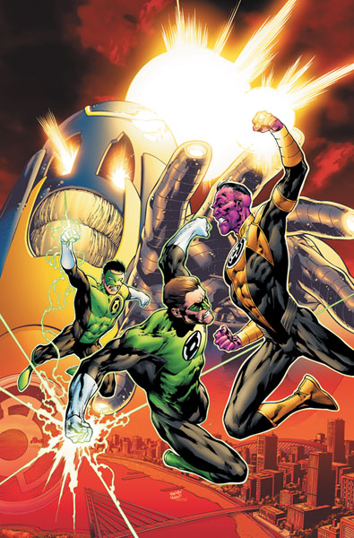 Image: Green Lantern: The Sinestro Corps War Vol. 02 HC  - DC Comics