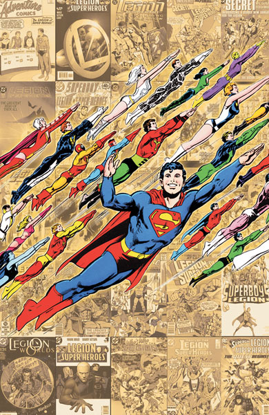 Image: Legion of Super Heroes: 1,050 Years in the Future SC  - DC Comics