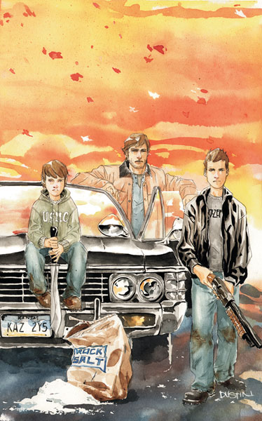 Image: Supernatural: Rising Son #1 - DC Comics