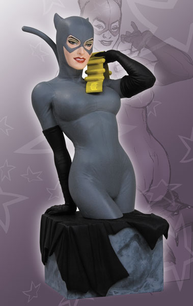 Image: Women of the DC Universe Series 2 Bust: Catwoman  -