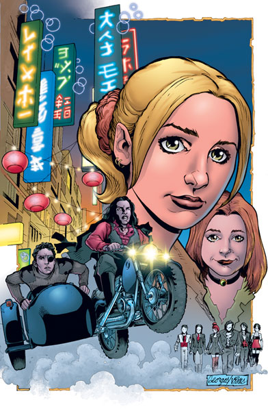 Image: Buffy the Vampire Slayer #13 (George Jeanty Cover) - Dark Horse