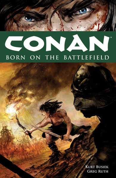 Image: Conan: Born on the Battlefield SC  - Dark Horse