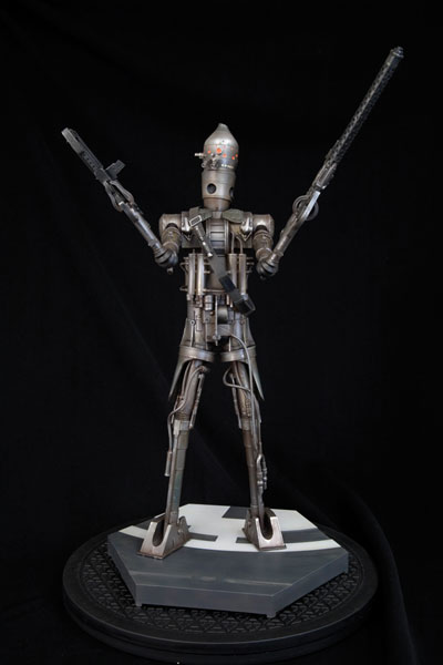 Image: Star Wars Kotobukiya Vinyl Model Kit: Bounty Hunter IG-88  - Dark Horse
