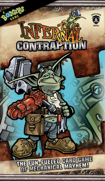 Image: Infernal Contraption Card Game  - Privateer Press