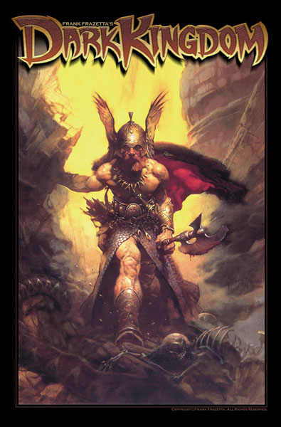 Image: Frank Frazetta's Dark Kingdom Part 1  (Frazetta Cover) - Image Comics