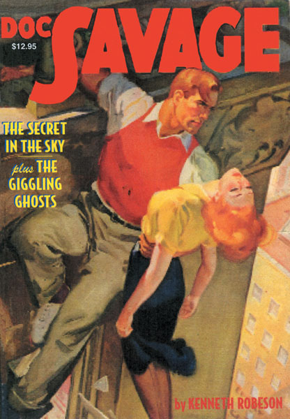 Image: Doc Savage #16: Secret in the Sky & The Giggling Ghosts SC  -