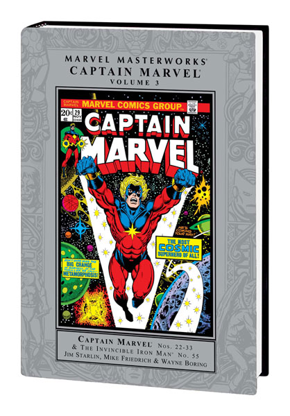 Image: Marvel Masterworks: Captain Marvel Vol. 03 HC  - Marvel Comics