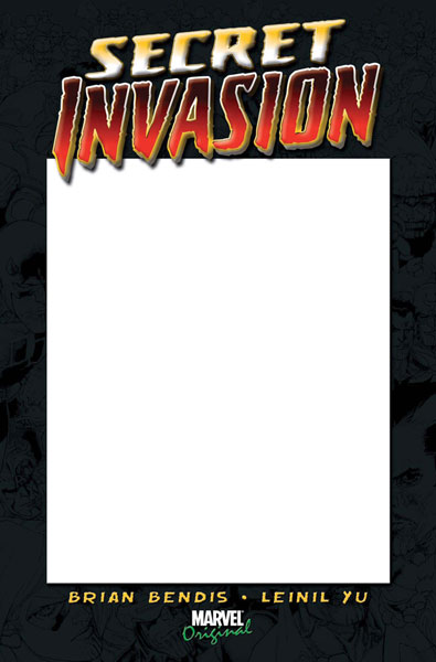 Image: Secret Invasion #1 (Blank Con Cover Variant) - Marvel Comics