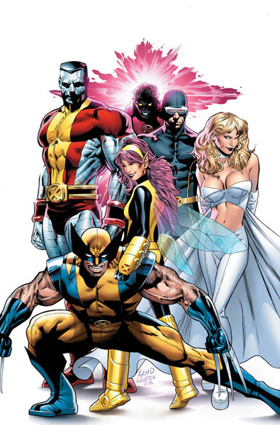 Image: X-Men Greg Land Poster  - Marvel Comics