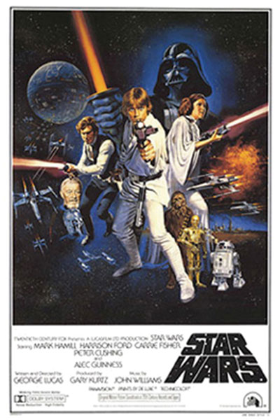 Image: Star Wars: a New Hope Style C Decor Poster  -