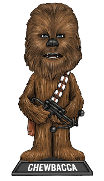 Image: Star Wars Wacky Wobbler Bobble-Head: Chewbacca  -
