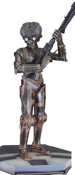 Image: Star Wars: The Bounty Hunter Series 4-Lom Artfx Statue  - Kotobukiya