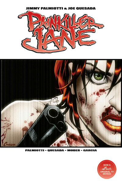 Image: Painkiller Jane Vol. 01 SC  (photo cover) - D. E./Dynamite Entertainment