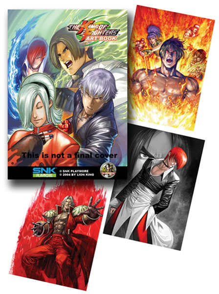 Image: King of Fighters Art Book SC  - DR Master Publications Inc