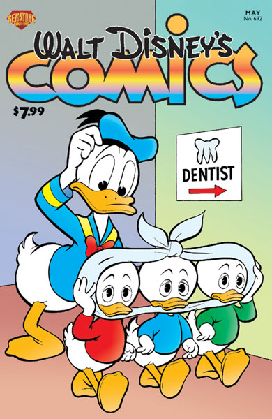 Image: Walt Disney's Comics & Stories #692 - Gemstone Publishing