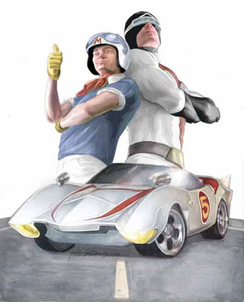 Image: Speed Racer & Racer X: The Origins Collection SC  - IDW Publishing