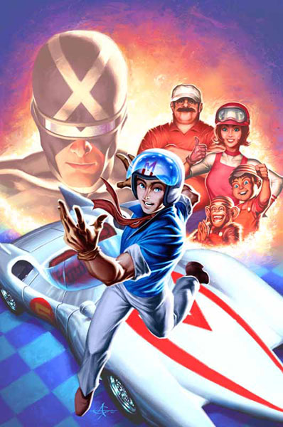 Image: Speed Racer: Chronicles of the Racer SC  - IDW Publishing