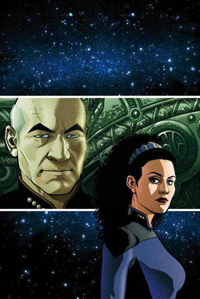 Image: Star Trek: TNG - Intelligence Gathering #4 (Cover A) - IDW Publishing