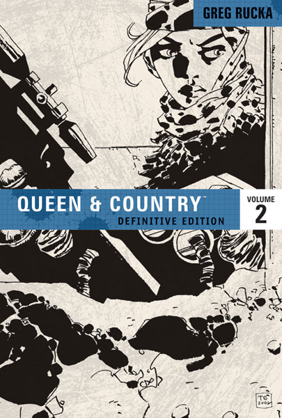 Image: Queen & Country Definitive Edition Vol. 02 SC  - Oni Press Inc.