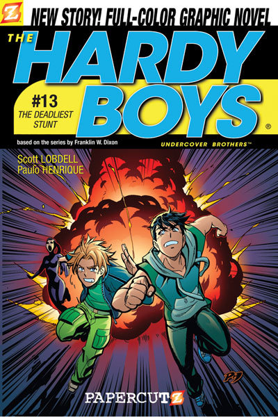 Image: Hardy Boys Vol. 13: The Deadliest Stunt SC  - Papercutz