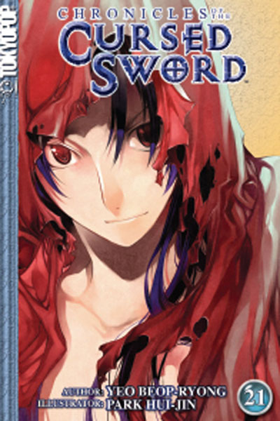 Image: Chronicles of the Cursed Sword Vol. 21 SC  - Tokyopop