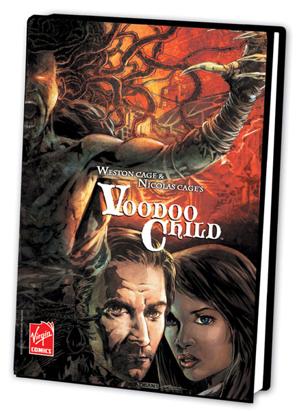 Image: Nicolas Cage's Voodoo Child HC  - Virgin Comics LLC