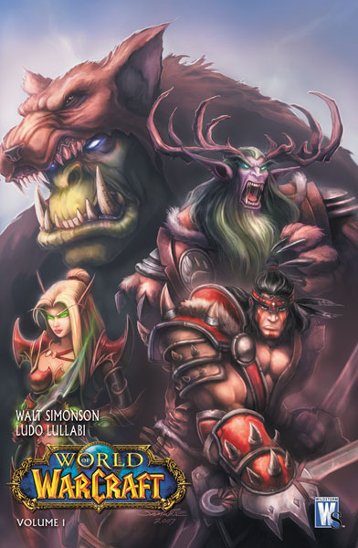 Image: World of Warcraft Book 01 HC  - DC Comics
