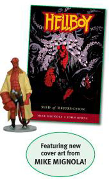 Image: Hellboy Book & Figure Boxed Set  -