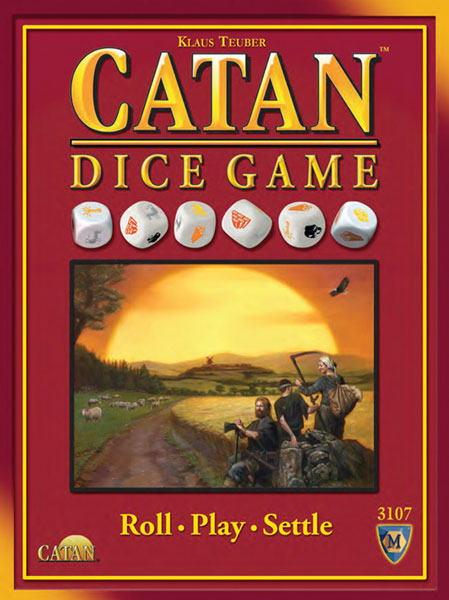 Image: Catan Dice Game  - Mayfair Games