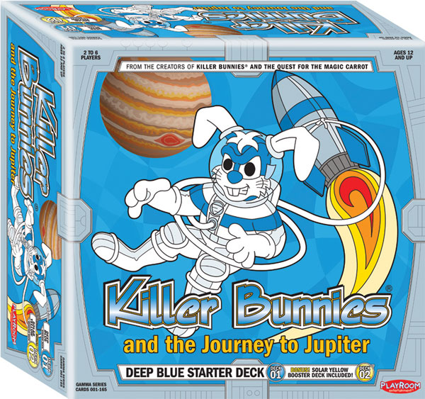 Image: Killer Bunnies: Journey to Jupiter Board Game  - Playroom Entertainment