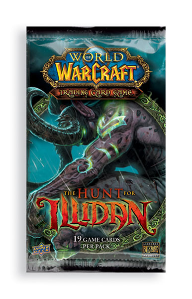 Image: World of Warcraft Trading Card Game: Hunt for Illidan  - The Upper Deck Company