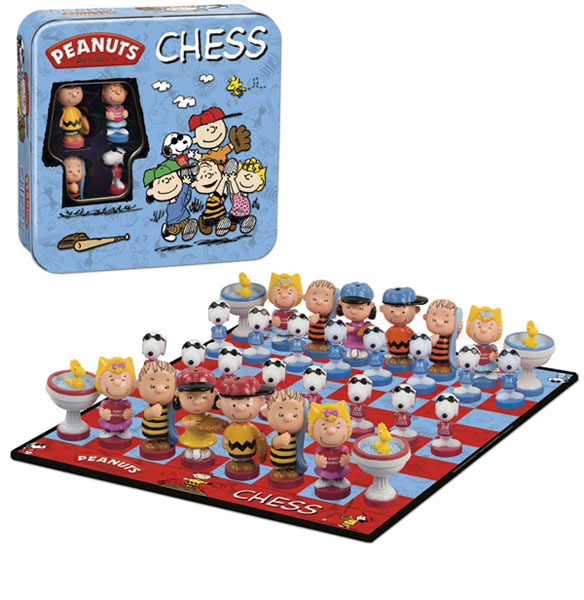 Image: Peanuts Chess Set  - USAopoly