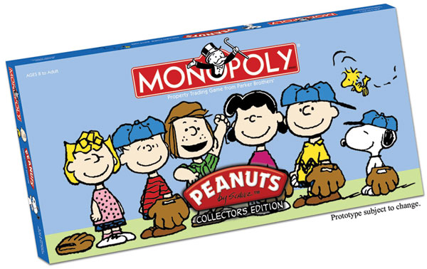 Image: Peanuts Collector's Edition Monopoly  - USAopoly