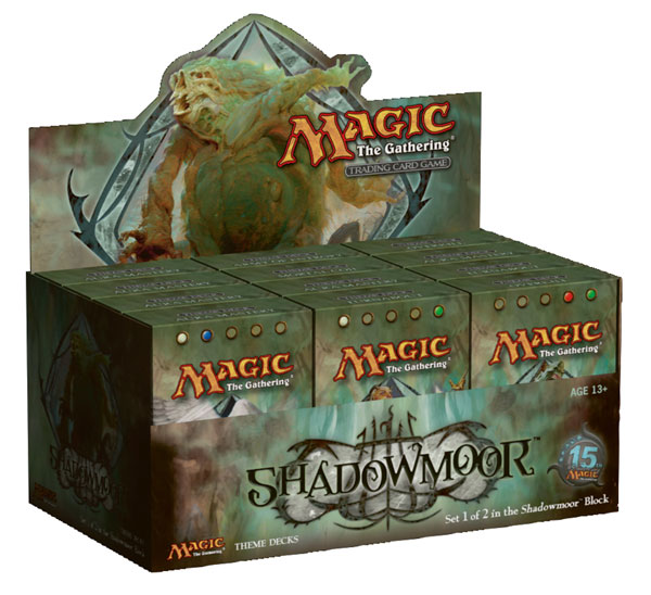 Image: Magic the Gathering CCG: Shadowmoor Expansion Theme Deck Display  - Wizards of the Coast